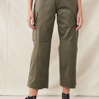 Urban Renewal Recycled Cropped Surplus Pant | Urban Outfitters