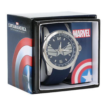 Marvel Captain America: The Winter Soldier Shield Collectors Watch