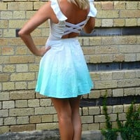 NOTHING TO WEAR ? CHASE THE SUN DRESS - AQUA MINT