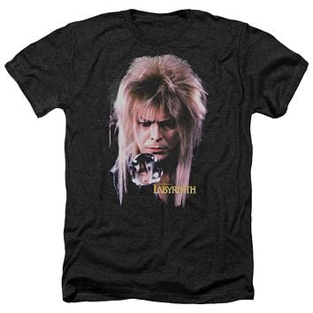 Unisex Labyrinth David Bowie Goblin King Heathered T-Shirt