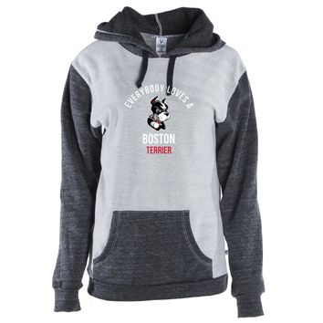 Official NCAA Boston University Terriers Unisex Kangaroo Pocket Pullover Hoodie