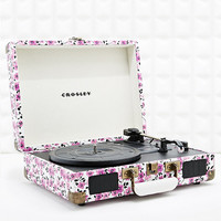 Crosley Cruiser Portable Turntable in Ditsy Print UK Plug - Urban Outfitters