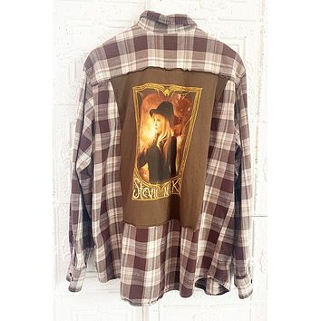 Vintage Unisex Stevie Nicks Flannel