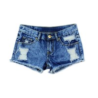 Womens Summer Sexy Shorts Denim Shorts Jeans Hole Jeans Sexy Cotton Ladies Shorts