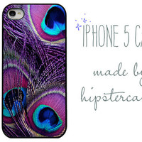 peacock iphone case - Iphone 5 Case -iphone case Peacock. Peacock Feather.Purple. Pretty. Peacock. Girly.