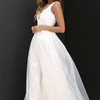 Could Have Danced All Night Pale Blush Maxi Dress