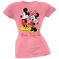 Mickey Mouse - Best Friends Juniors T-Shirt