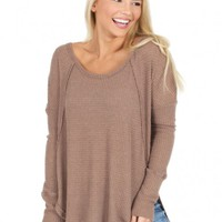 Hard To Say It Sweater | Monday Dress Boutique
