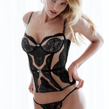 NEW! Tulle & Lace Bustier