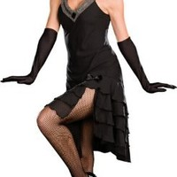 Sophisticated Flapper Lady Costume