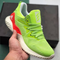 Adidas AlphaBounce Running Sports Sneakers Shoes Green