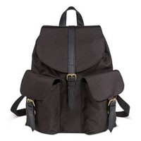 Women's Solid Flap Backpack Black - Mossimo Supply Co.™ : Target