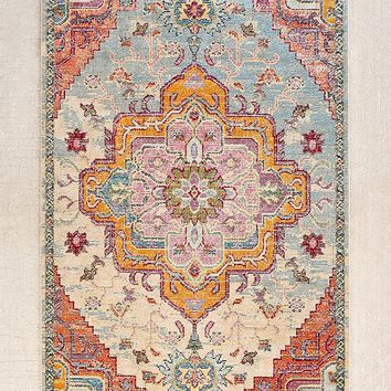 Crystal Floral Tufted Rug   Urban Outfitters