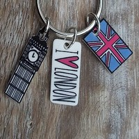 London Collection Keyring