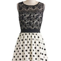 Dot You Look Lovely Dress | Mod Retro Vintage Dresses | ModCloth.com