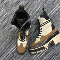 Louis Vuitton Lv Women Laureate Platform Desert Boot Reference #5
