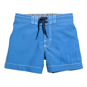 H&M - Printed Swim Shorts -