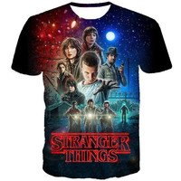 Stranger Things Tv Show  T-shirt