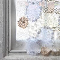 DIY Lace Doily Curtain - Free People Blog