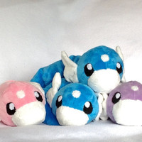 Pokemon inspired Dratini Plush- Made to Order