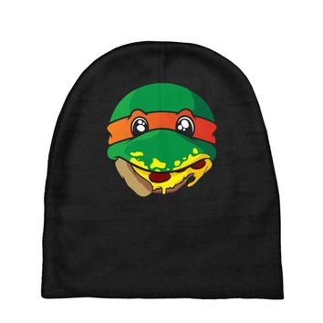 pizza turtle Baby Beanies