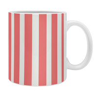 Allyson Johnson Red Stripes Coffee Mug