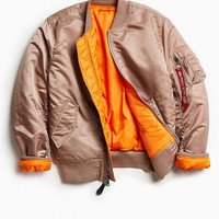 Alpha Industries MA-1 Slim-Fit Jacket - Urban Outfitters