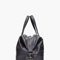 Givenchy Black Nightingale Boston Bag for men | SSENSE