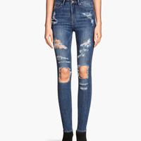 H&M Skinny High Jeans $39.95