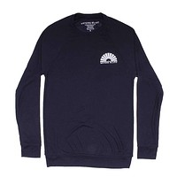 Hybrid Sweatshirt in Navy by Waters Bluff