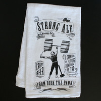Home Bar Towel - Strong Ale