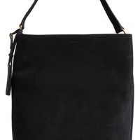 Saint Laurent Large Suede Hobo | Nordstrom