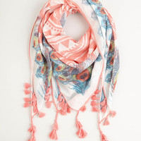 Boho Charismatic Confidence Scarf in Pink by ModCloth