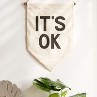 Secret Holiday & Co. It's OK Banner   Urban Outfitters