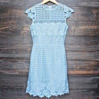 final sale - SAYLOR Jessa Dress in Sky
