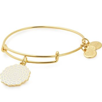 Crown Chakra Charm Bangle