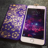 Vintage Lace Floral iPhone 6 6s 6 6S Plus Case Cover Free Shipping