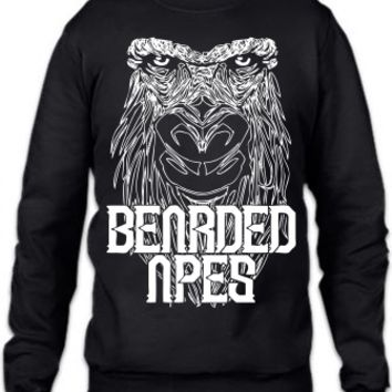 bearded apes Crewneck Sweatshirt