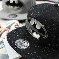 New Fashion Batman Lovers Adjustable Snapback Hip-hop Baseball Cap Unisex