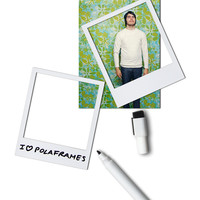 White Magnetic Polaframes | Polaroid Photo Magnet Frames