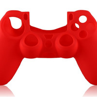 Silicone Case for PS4 Joypad (Red)