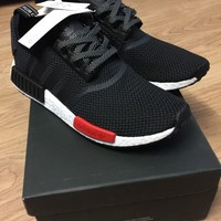 ADIDAS NMD_R1 BLACK/RED/WHITE AQ4498 LIMITED EDITION TRAINERS SIZE UK 6-11.5.