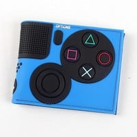 Game Handle Playstation wallet  3D Touch and super cool Men Wallets PVC Purse  Bi-Fold