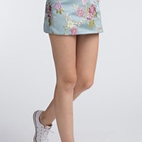 Jia Jacquard Mini Skirt