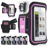 EXslimmer 9928 sports armband, Apple iPhone 5GS 5C 4GS 3G, Pink