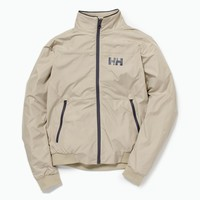 Crew Windbreaker Jacket, Aluminum