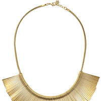 Essential Fringe Necklace - Gold