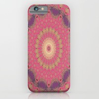 Magenta Sunset iPhone & iPod Case by ALLY COXON