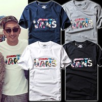 VANS Tommy men and women classic tee shirt T-shirt men and women