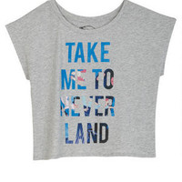Disney Take Me to Neverland  Tee